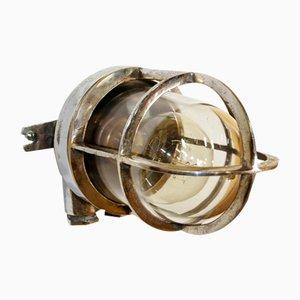Vintage Chrom Wandlampe
