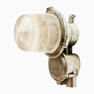Lámpara de pared alemana industrial vintage