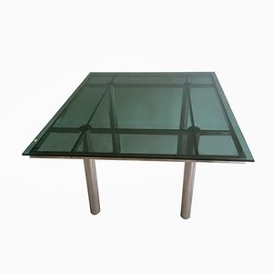 Table de Salle à Manger Vintage en Chrome
