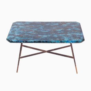 Vintage Italian Enamel Coffee Table