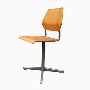 Stuhl aus Buche, 1960er