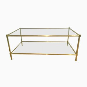Table Basse Vintage en Laiton