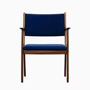 Vintage Armchair by Ole Wanscher for Poul Jeppesens Møbelfabrik