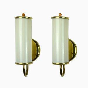 Art Deco Wall Lamps, Set of 2