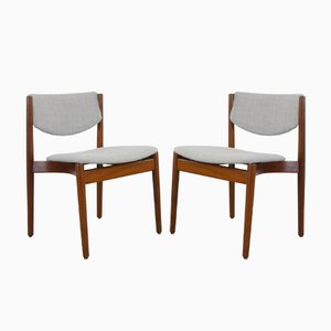 Danish Model 197 Chairs by Finn Juhl for France & Søn, 1960s, Set of 2