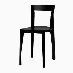 Black Quadrille Chair by François Azambourg for Moustache, 2018