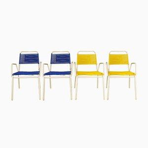 Gartenstühle von Mauser Werke Waldeck, 1960er, 4er Set