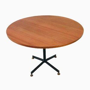 Table de Salle à Manger Circulaire Mid-Century par Ignazio Gardella