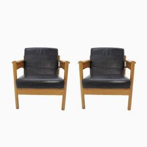 Vintage Armchairs from Krasna Jizba, 1973, Set of 2