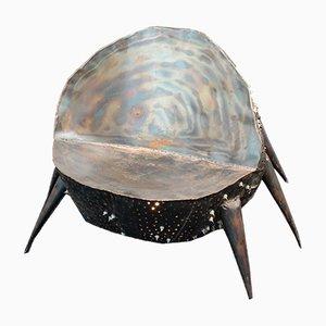 Beleuchteter Eisen Stuhl von Project Eisenherz, 1980er