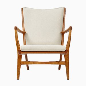 Model AP-16 Oak Chair by Hans J. Wegner for A.P. Stolen, 1952