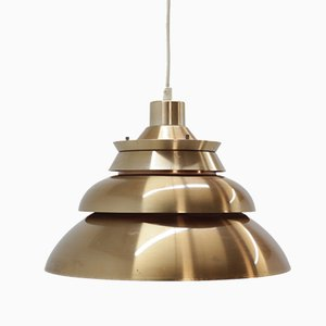Vintage Danish Pendant Light, 1970s