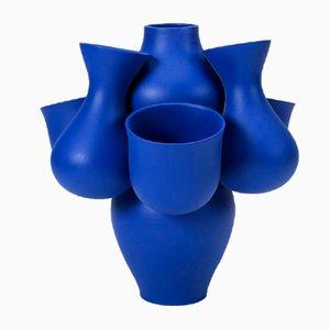 Vase Qucha Bleu par Jean Baptiste Fastrez pour Moustache, 2018