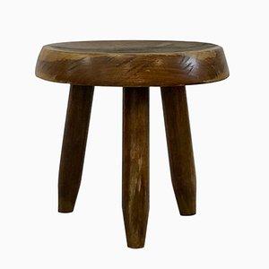 Niedriger Walnuss Stuhl von Charlotte Perriand, 1950
