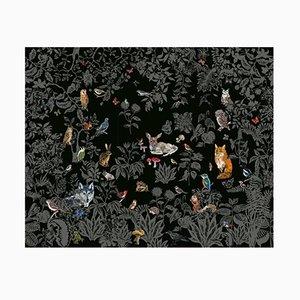 Papel tapiz Foret Noir de Nathalie Lété para Moustache, 2018