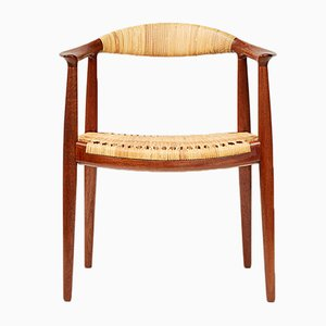 Model H-501 Teak Chair by Hans J. Wegner for Johannes Hansen, 1949