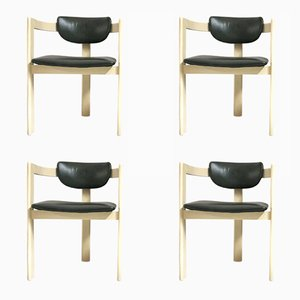 Space-Age Tripod Side Chairs, 1970s, Set of 4