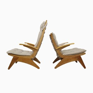 Lounge Chairs by Jan Den Drijver for De Ster Gelderland, 1948, Set of 2