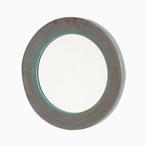 Schwedischer Kupfer Spiegel von Glasmäster & Markaryd, 1960er