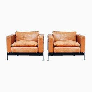Vintage RH 302 Sessel von Robert Haussmann für De Sede, 2er Set