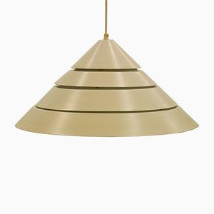 Lámpara de techo en forma de cono de Hans-Agne Jakobsson, años 60
