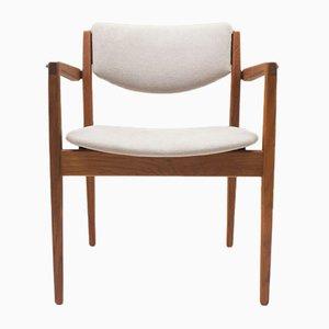 No. 196 Armlehnstuhl von Finn Juhl für France & Søn, 1960er