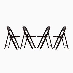 Chaises Pliables B 751 Bauhaus de Thonet, 1930s, Set de 4
