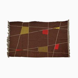Doppelseitiger geometrischer Teppich, 1959