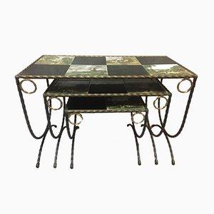 Tavolini a incastro vintage