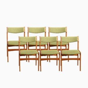 Vintage OD 49 Stühle von Erik Buch für Oddense Maskinsnedkeri, 6er Set