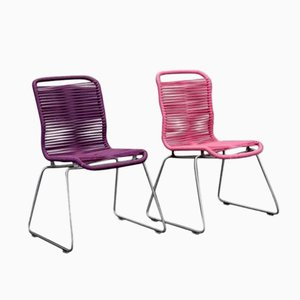 Vintage Children's Tivoli Chairs by Verner Panton for Montana, Set of 2