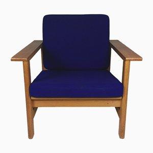 Model 2451 Oak Lounge Chair by Søren Holst for Fredericia, 1980s