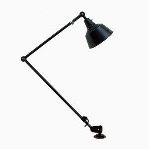 Lámpara industrial vintage con brazo articulado de Curt Fischer para Midgard