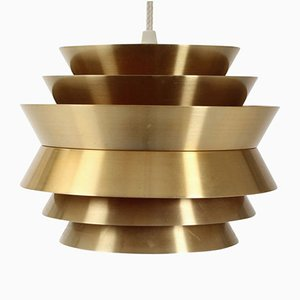 Brass Pendant by Carl Thore for Granhaga, 1970s
