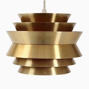 Brass Pendant by Carl Thore for Granhaga, 1970s