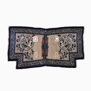 Handgeknüpfter antiker tibetischer Teppich mit Tang & Song Dynastie Muster