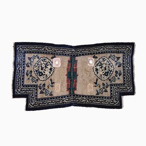 Tapis Antique Fait Main avec Motif Tang & Song Dynasty, Tibet
