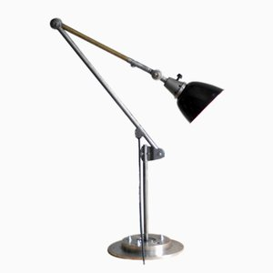 Lámpara de pared vintage grande articulada de Curt Fischer para Midgard