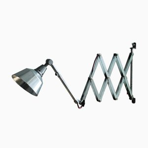 Lámpara de acordeón alemana vintage de Curt Fischer para Midgard