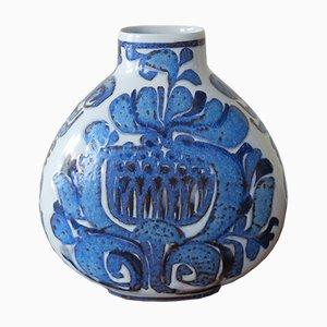 Jarrón danés vintage de cerámica de Royal Copenhagen, años 60