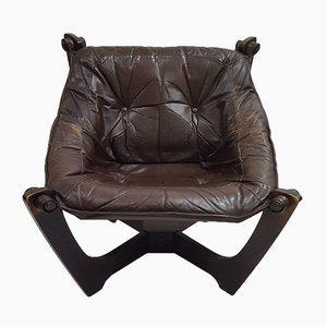 Vintage Luna Lounge Chair by Odd Knutsen