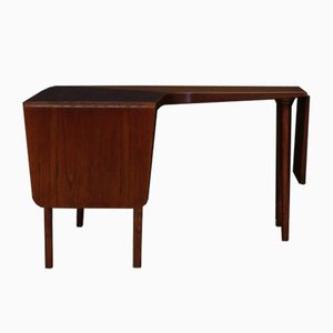 Tavolino da caffè in teak di Johannes Andersen, anni '60