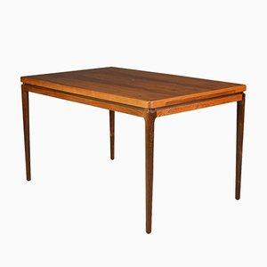 Table de Salle à Manger à Rallonge Vintage en Palissandre de Chr. Linneberg