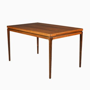 Vintage Rosewood Extendable Dining Table from Chr. Linneberg