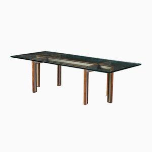 Table Basse en Verre par Henning Korch pour CFC Silkeborg, 1960s