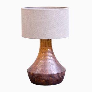Vintage Keramik Lampe von Accolay, 1960er