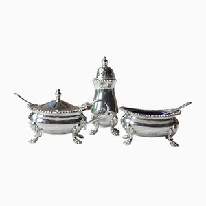 Accessori da tavola in argento, Regno Unito, anni '50