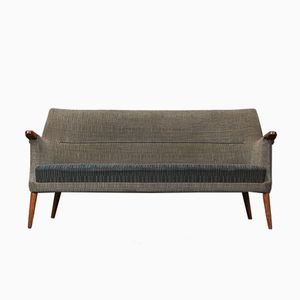 Vintage 3-Seater Wool Sofa from Poul M. Jessen, 1960s