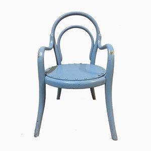 Chaise pour Enfant Courbé Vintage en Bois