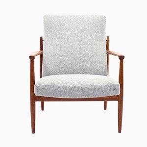 Schwedischer Vintage Sessel von Bröderna Andersson, 1960er